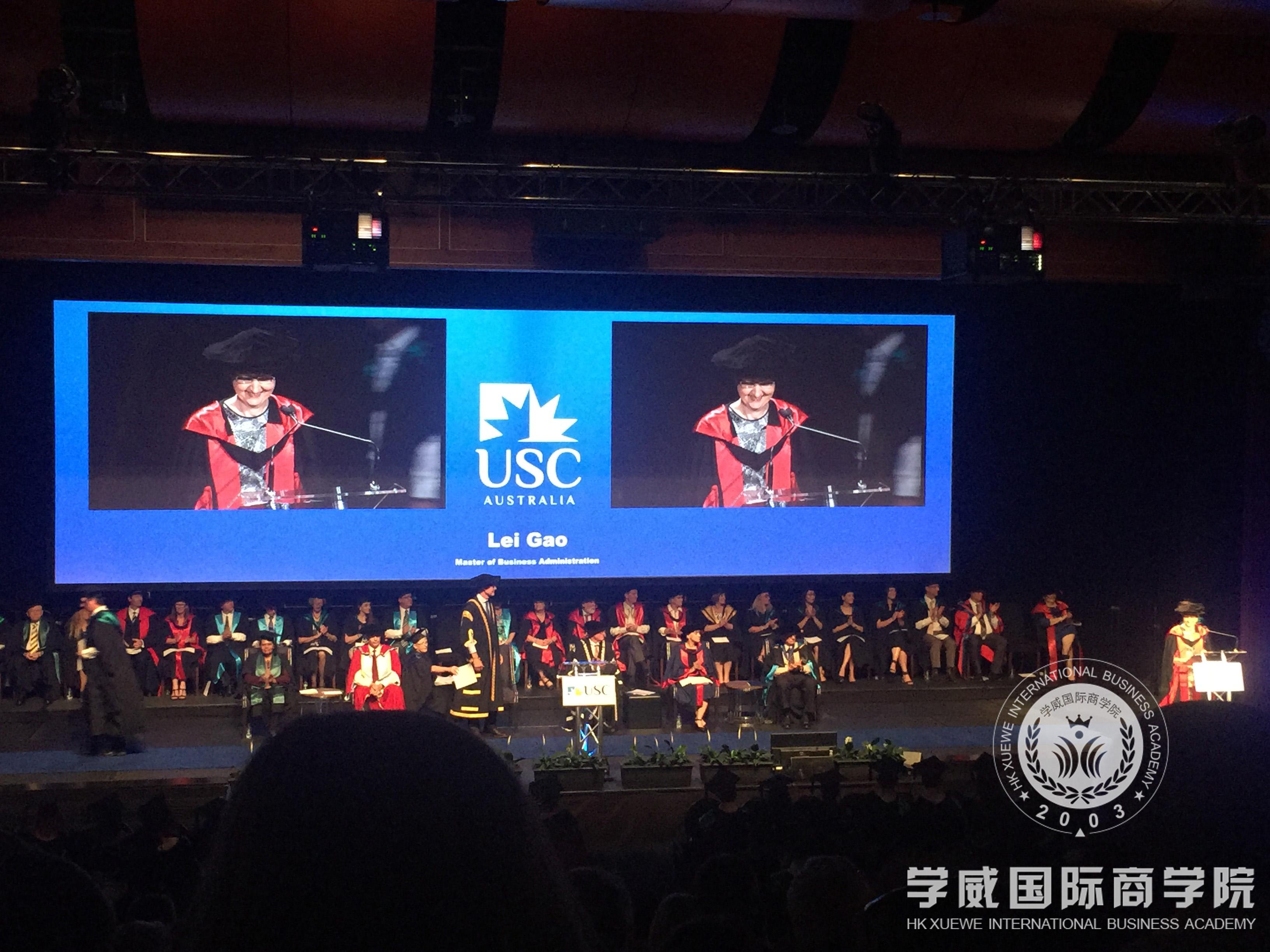 USC 2017届毕业典礼