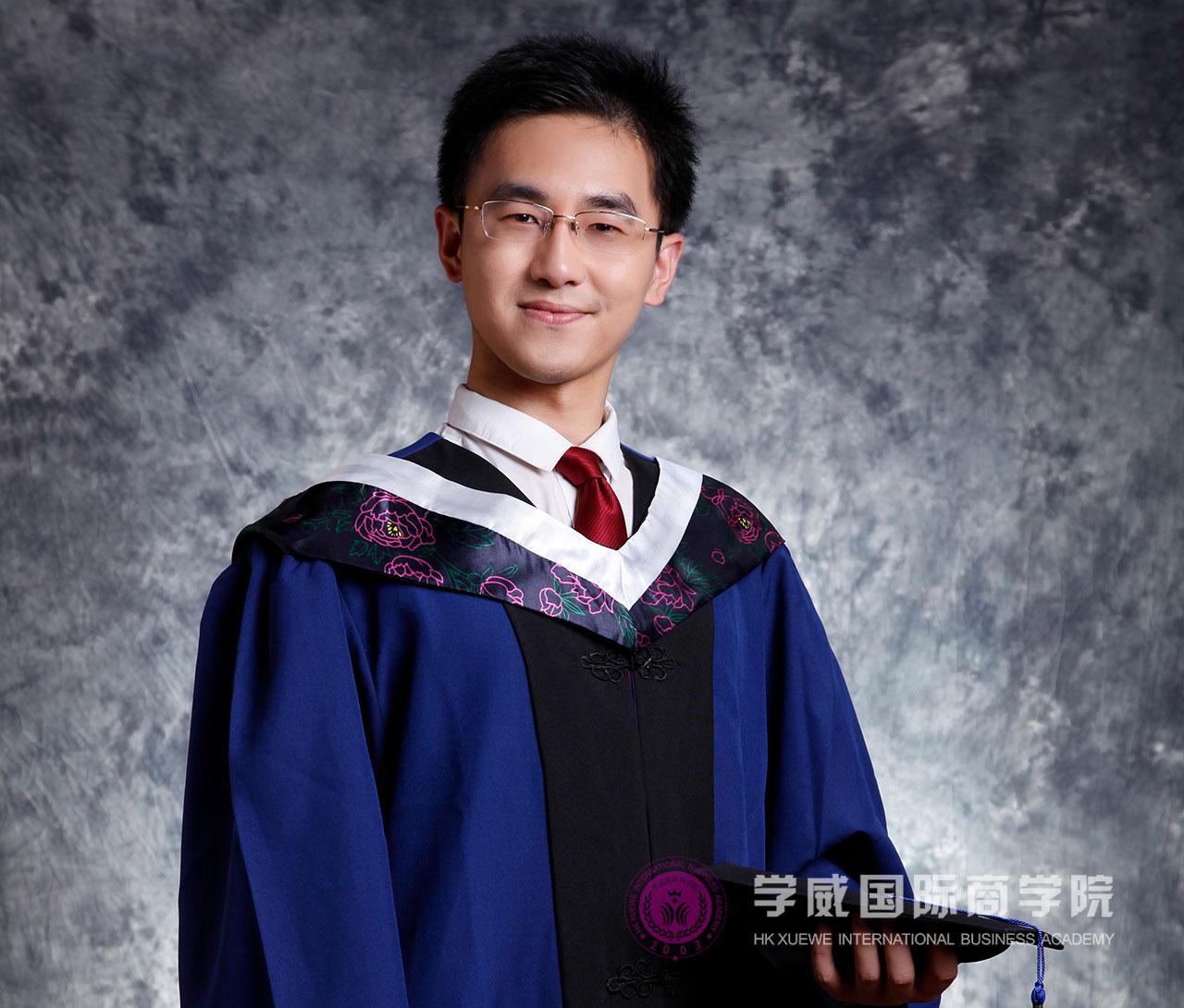 徐黄杰毕业照